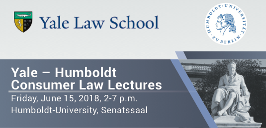 Yale-Humboldt Consumer Law Lecture 2018